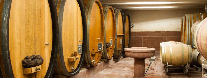 Guide des vins d'Alsace rue des vignerons