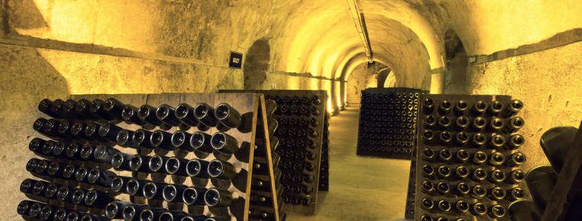Cave champagne mumm reims rue des vignerons