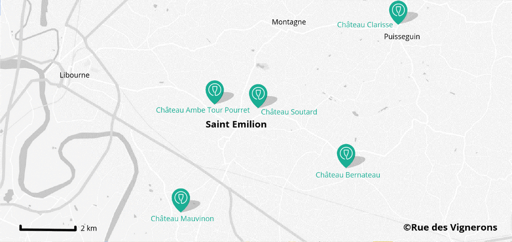 Vignoble Saint Emilion