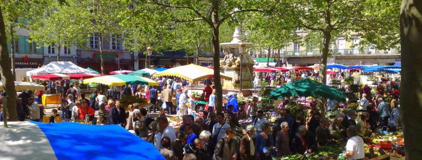 Marché Carcassonne