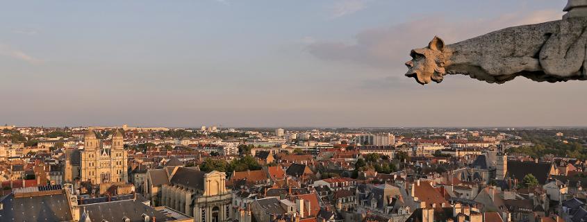 Vue de la tour Philippe le Bon Dijon