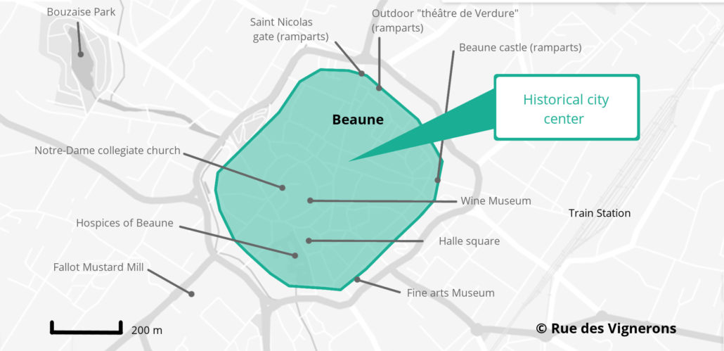 beaune france map