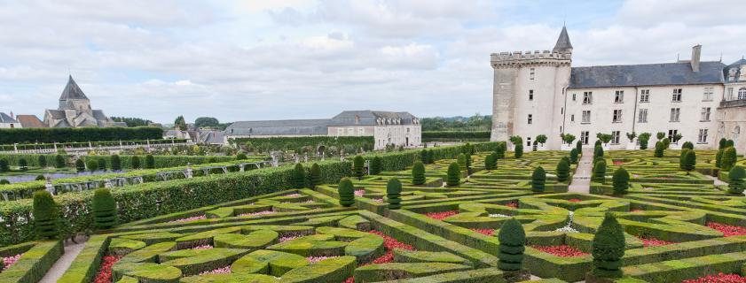 Château de Villandry, jardins château de Villandry