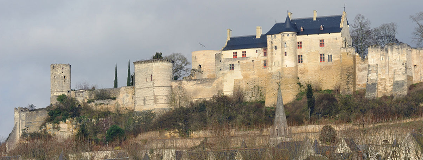 Château Chinon, Forteresse royale Chinon