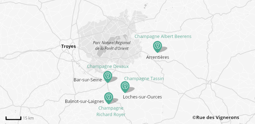 Domaines aux alentours de Troyes, domaines proches de troyes, visite domaines troyes, dégustation champagne troyes, maisons de champagne troyes
