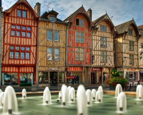 Troyes centre ville, Troyes centre historique, Troyes ville