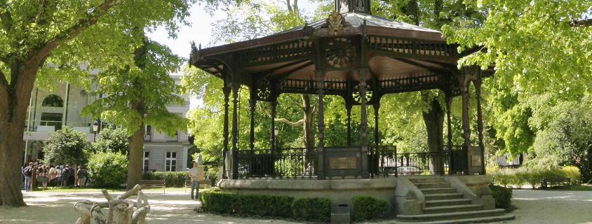 Kiosque a musique Troyes, Kiosque à musique parc du rocher