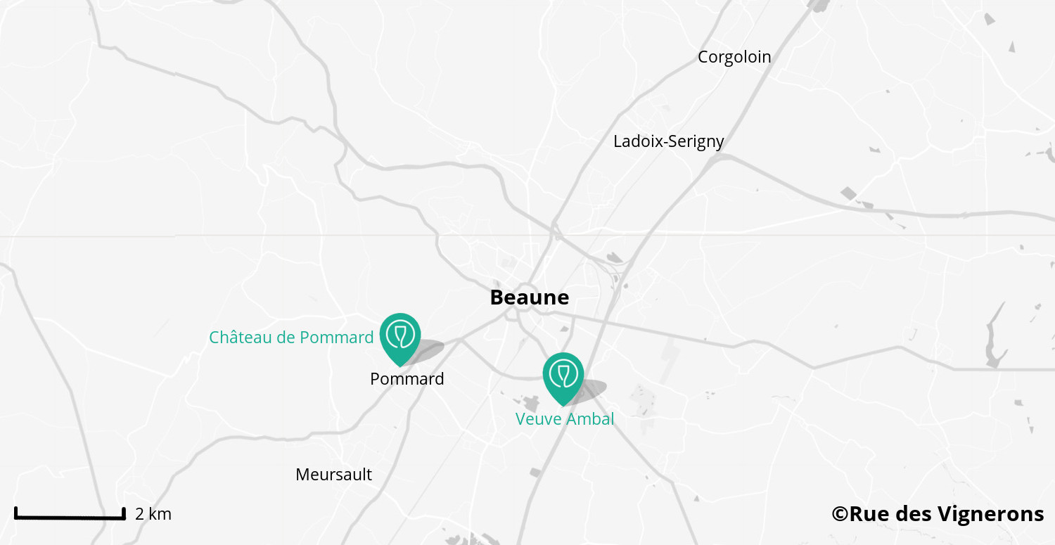 wineries close to beaune, burgundy winery map, beaune winery map, burgundy vineyards map, vineyards close to beaune
