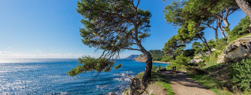Bandol Coastline view, bandol coastline, coastal path bandol, coastal path provence, coastline provence