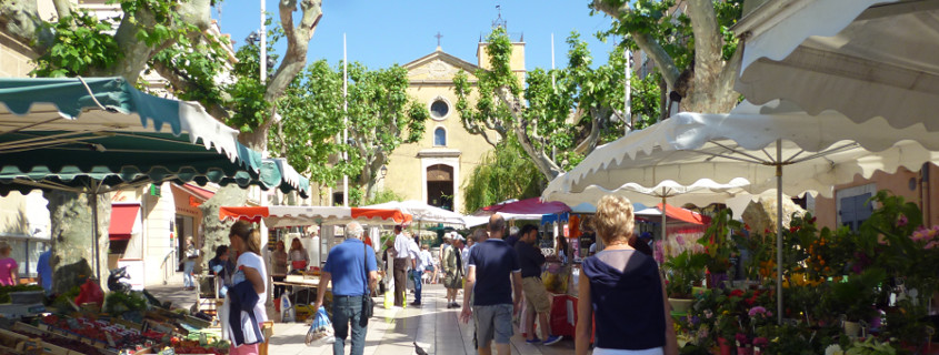 Bandol Market, provence markets