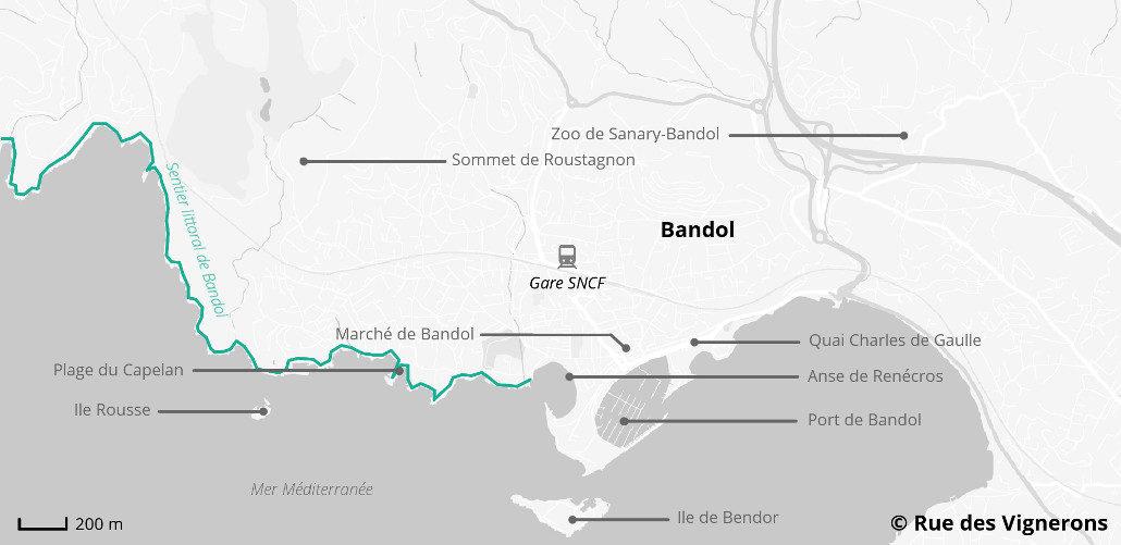 Visit Bandol and its region Blog Rue des Vignerons