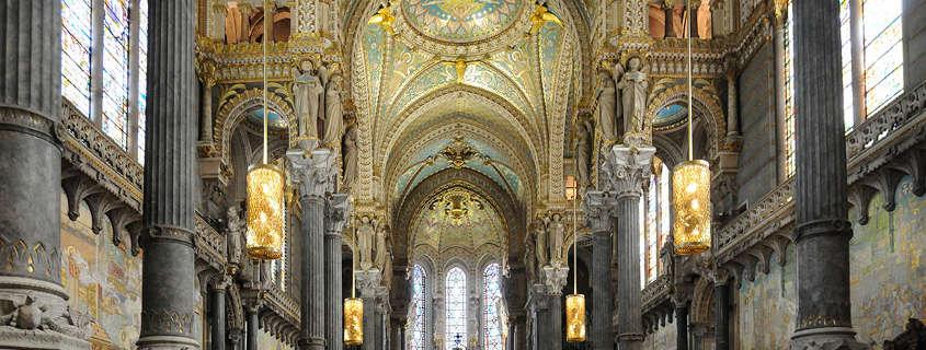 Basilique De Fourviere Lyon