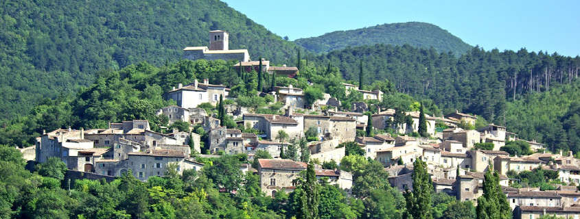 Mirmande Drome, plus beau village France