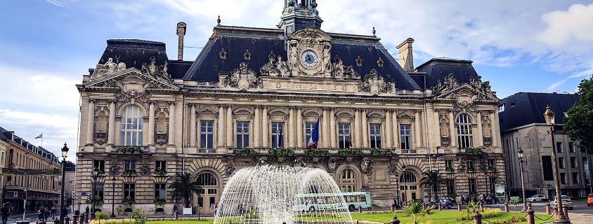 Hotel de ville tours, mairie tours