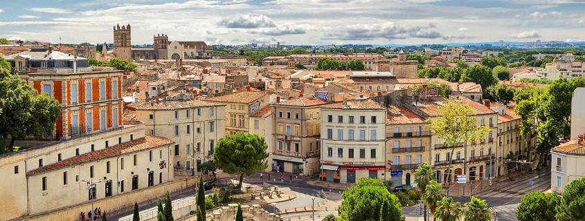 Centre ville historique Montpellier