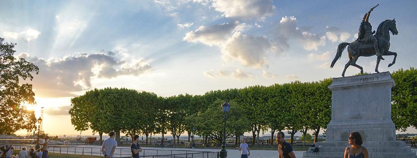 Place du Peyrou Montpellier France