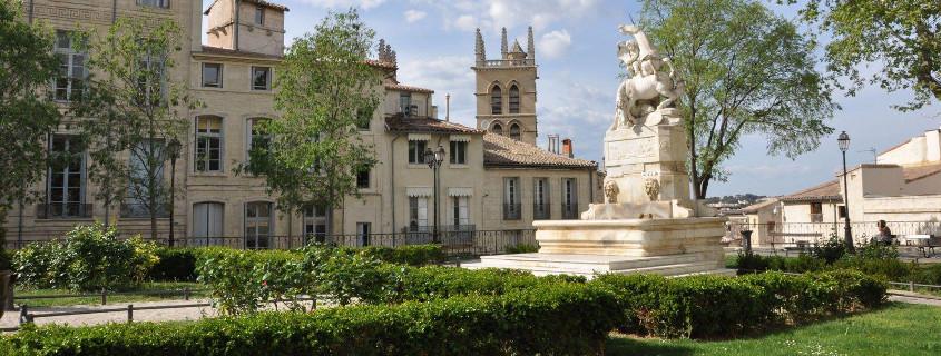 Place de la Canourgue Montpellier France