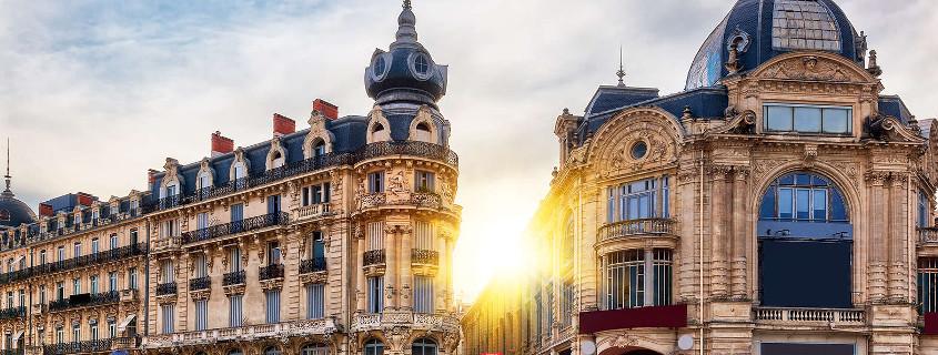 Place de la comédie Montpellier France