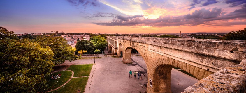 Roman Aqueduct Montpellier France