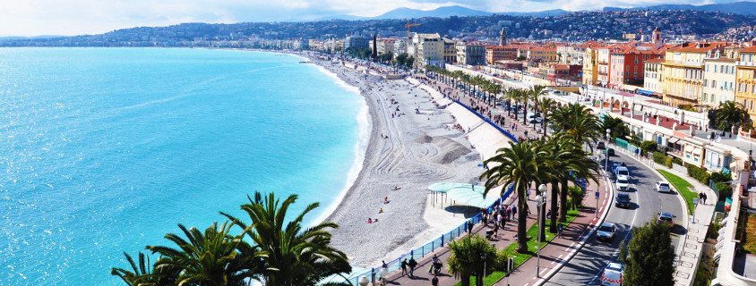 Ville de Nice, promenade des Anglais nice