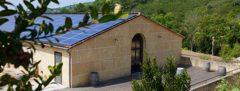 Clos de l'Amandaie winery Languedoc France