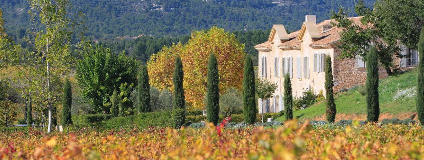 Château Paradis Coteaux d'aix en provence