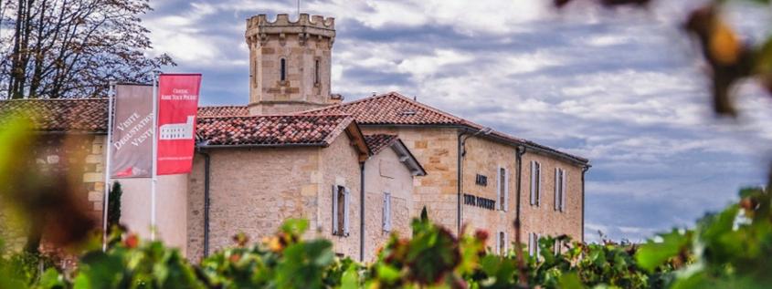 Château Ambe Tour Pourret st emilion, visite domaine saint emilion, visite château st emilion, vignoble visites st emilion