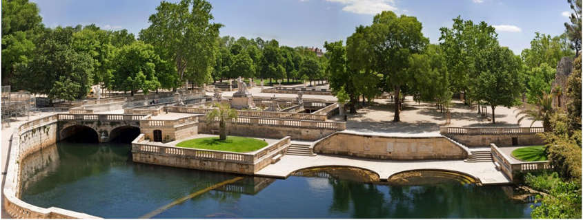 jardin de la fontaine nimes