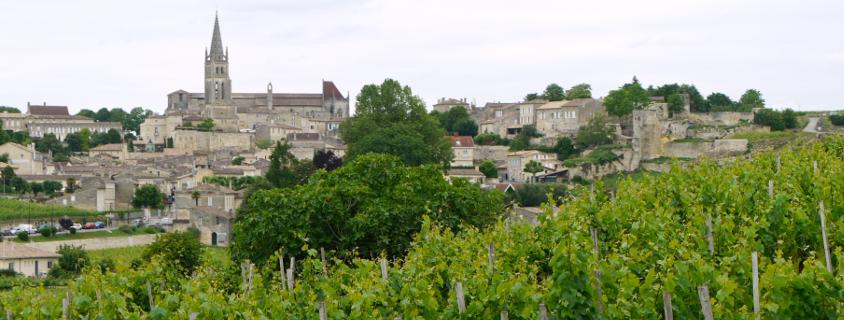 Vue sur Pauillac, visiter pauillac, village médoc