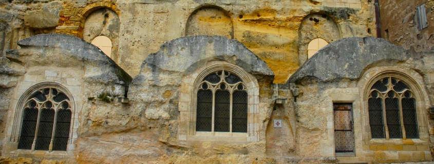 Undergrounds tour and visit in Saint Emilion, France