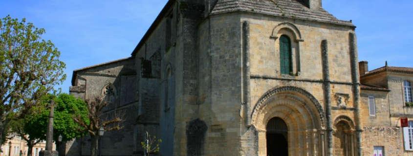 Collegiate church saint emilion
