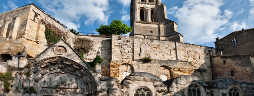 Monolithic Church Saint Emilion France