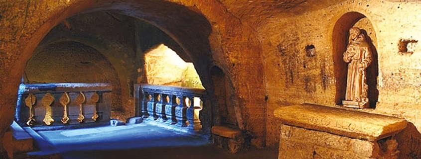 Saint Emilion hermitage cave