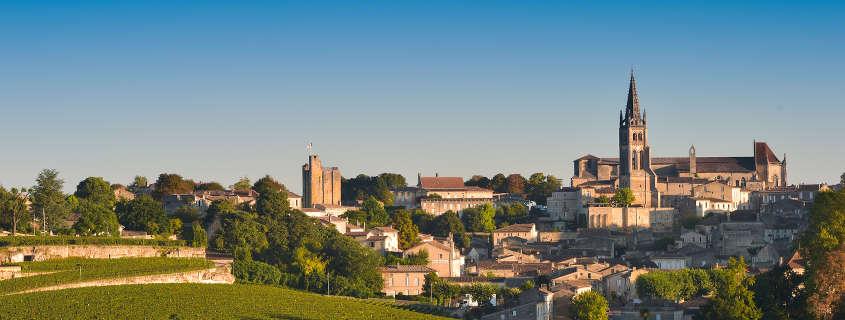 Saint Emilion France images, view of the city