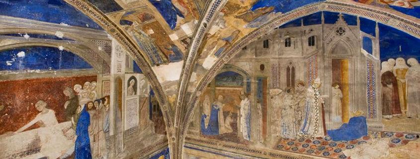 Giovannetti frescoes Saint Martial Chapel Avignon