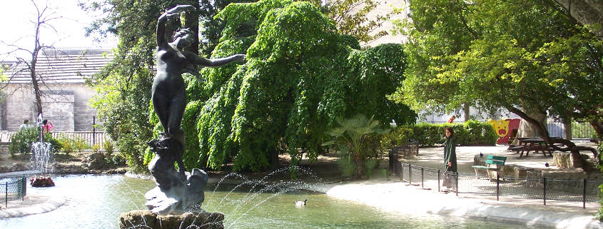Jardin des Doms Avignon, Doms garden Avignon