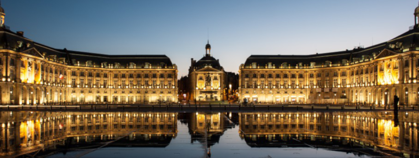 Place de la bourse bordeaux france