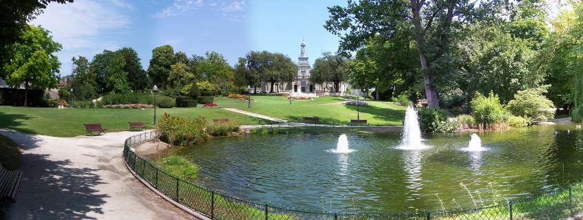 cognac gardens, cognac orangery, cognac fountains, cognac city hall, cognac park