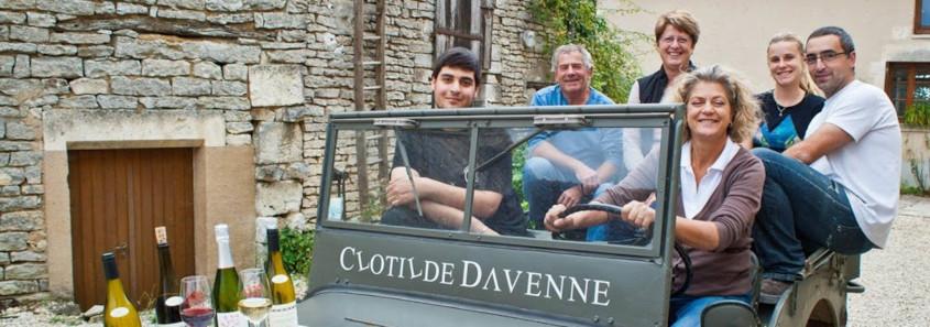 Domaine Clotilde Davenne prehy
