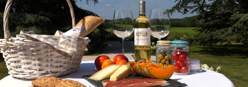 Pique-nique au Château Fombrauge Saint Emilion, pique-nique saint emilion, repas saint emilion, restaurant saint emilion