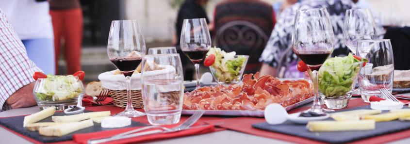 Repas au Château Ambe Tour Pourret, Repas au Château Ambe Tour Pourret saint emilion