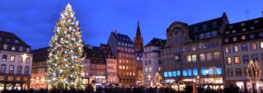 Strasbourg marché de noël, strasbourg sapin, strasbourg grand sapin place kléber