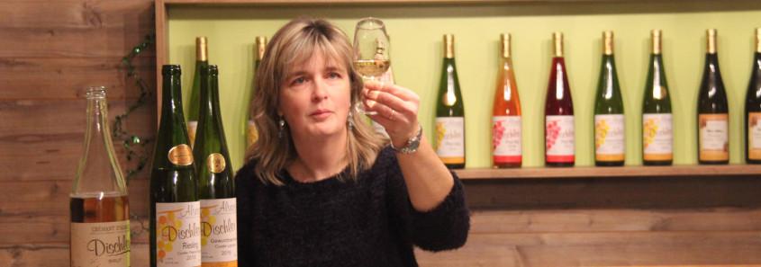 domaine route des vins alsace nord, dégustation marlenheim, domaine dischler