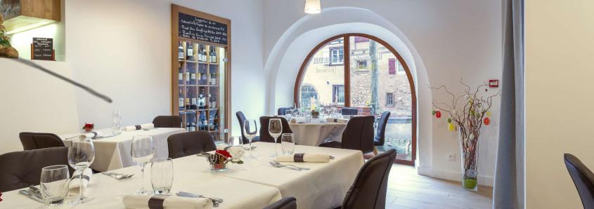 restaurant eguisheim, restaurant route des vins, visite domaine eguisheim, emile beyer route des vins