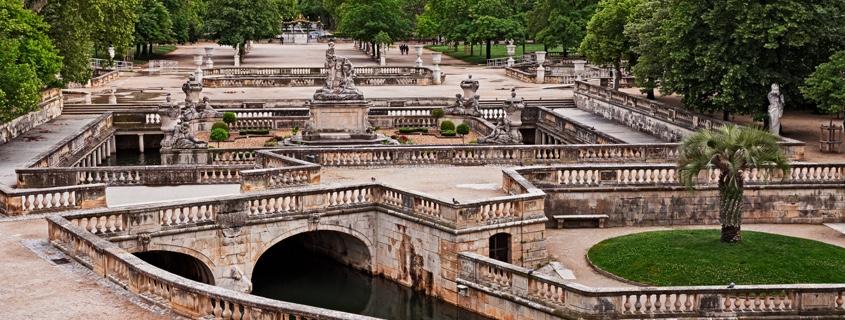 Jardins et fontaines de Nîmes