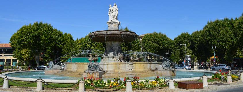 rotunda fountain aix en provence