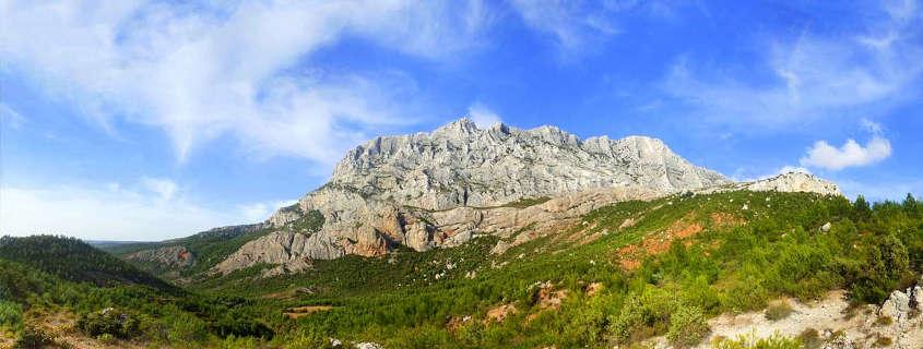 saint victoire mountain aix en provence france
