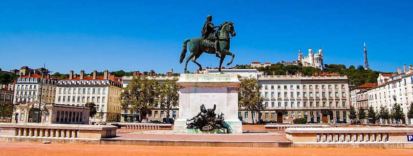 Bellecour square, Lyon