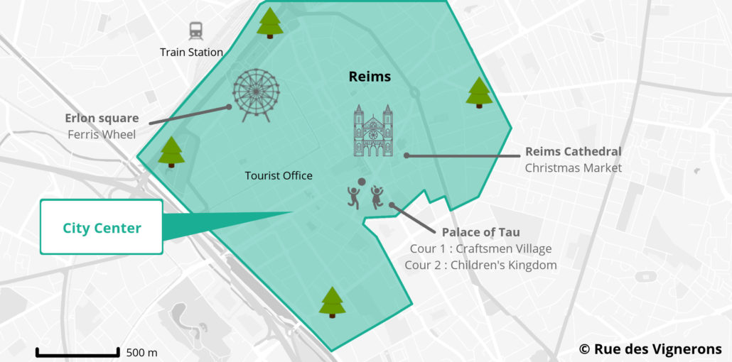 Reims Christmas market city map, Reims Christmas market tourist map, reims christmas market, reims christmas market 2018