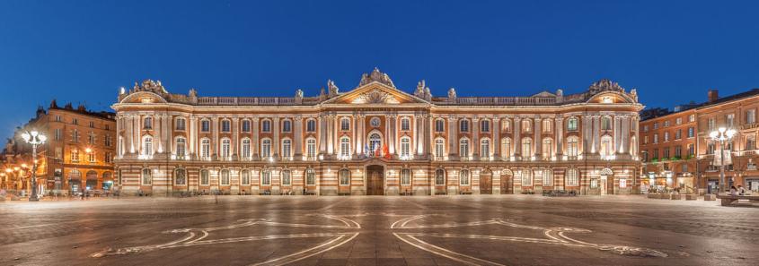 Capitole de Toulouse, place du capitole toulouse, mairie de toulouse, salle des illustres toulouse